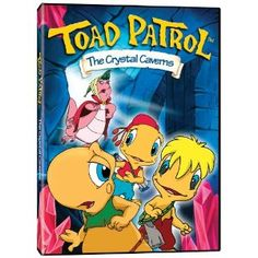 Toad Patrol: The Crystal Caverns --- Oh my god, it does exist! It's not just a figment of my imagination! Fairy Ring, Watch Cartoons, Toad, Teamwork, My Childhood, Fan Art, Crystals, Running Tips, Anime