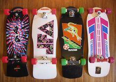 Old school skateboards (via antoinetta)