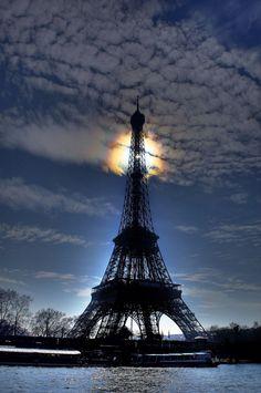 beautymothernature:Eiffel Tower, Paris, mother nature moments