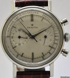 Zenith Sporto Acciaio - 1960