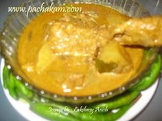 Kerala Nadan Kozhi Curry - Chicken and potatoes in spicy coconut milk