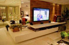 Móvel dois em um para sala de jantar e tv - veja ótimas ideias para apartamentos!