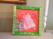 1967 Barbie Francie and Casey (and Twiggy) Summer Frost NRFB outfit 1276