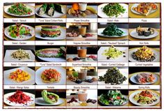 500 Calorie Diet Meal Plan Ideas for when you're on hCG.