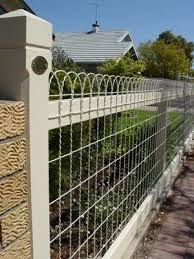woven wire fence - G