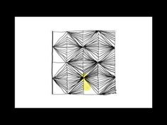 ▶ Zentangle Patterns | Tangle Patterns? - Facets - YouTube