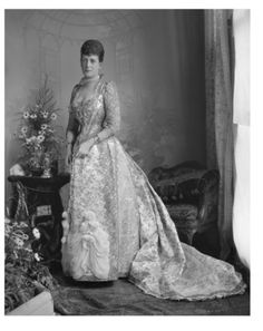 Queen Alexandra (1844-1923) when Princess of Wales, photo Lafayette Portrait Studios. London, England, 4th July 1893.
