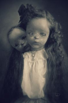 Kith and kin by asconch on DeviantArt ........freaky