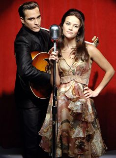 Joaquin Phoenix and Reese Witherspoon in Walk The Line (2005). I'm a biopic fan and this is one of the best I've ever seen, almost as good as Ray. Phoenix and Witherspoon, as Johnny Cash and June Carter, were phenomenal together. - Ronni