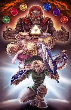 LoZ: Ocarina of Time by AshleyCassaday on DeviantArt Zelda Tattoo, Link Zelda, Open Your Eyes, Character Description, Guys And Girls, Legend Of Zelda, Video Games, Deviantart, Anime