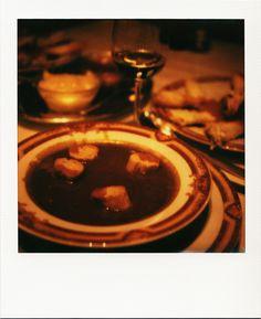 Bouillabaisse Chez Michel #Marseille #gastronomie #restaurant #soupe #poisson #ChezMichel #délice #polaroid #SX70 / www.marseillepolaroid2013.com