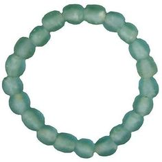 Recycled Sky Blue Pearl Glass Bracelet - Fair Trade - #thisbluesea #shopfairtrade #fairtrade  Global Mamas' beads are handmade from recycled glass using ancient traditions. Bracelets have clear elastic band, one size fits all.  Meet the Artisans  Global Mamas  Odumase Krobo is home to the second Global Mamas location. Leveraging the success of our Mamas in Cape Coast, we replicated the model in Krobo with the skilled producers of recycled glass beads. Opened in 2006, we now work with more…