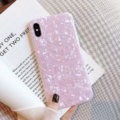 Details about ELALA Glossy Marble Case For iphone 7 X Case Funny Pattern Glitter Conch Silicon Iphone 8, Iphone 7 Plus, Marble Iphone Case, Marble Case, Glitter Stars, Iphone Models, 6s Plus, Iphone Case Covers, Rose Quartz