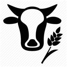 agreeculture, agriculture, basic, bread, cow, farm, farmer, farming, food, green, grow, leaf, nature, organic, plant icon