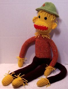 Scarecrow Sock Monkey