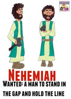 Nehemiah and the Wall Story Summary | Sunday school | Bible