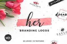 Her - Branding Logos by Davide Bassu on @creativemarket