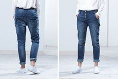 Worker Jeans Levy Blue: Cosy cool Look.