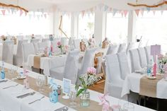Laura and Ben's gorgeous pink and blue seaside wedding � staplephotography.co.uk