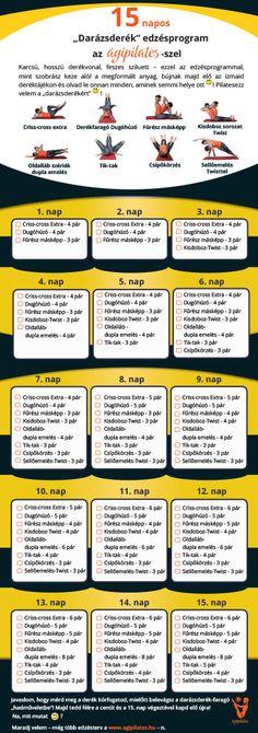 15 nap Pilates - a darázsderékért | Ágipilates