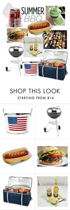 """""""BBQ ⚾️"""" by lulala002 ❤ liked on Polyvore featuring interior, interiors, interior design, home, home decor, interior decorating, Dancook, Picnic at Ascot and summerbbq"""