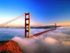 Golden Gate Bridge: San Francisco, California