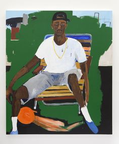 Henry Taylor with Kahlil Joseph at Blum & Poe