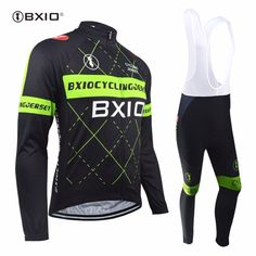 36.48$  Watch now - Bxio Promotion Cycling Sets Hot Item Long Sleeves Wielerkleding Top Rate Ciclismo Bike Bicicleta Cycling Clothes BX-0109HG-018  #buyonline