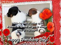 Side by side or miles apart, Friends Forever are close to heart~#Friendship #Quote. Send this Ecard to a friend who is miles apart but close to your heart. www.123greetings.com
