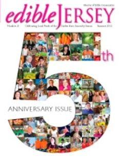 Edible Jersey Celebrates 5th Anniversary & Eat Drink Local Week June 23 - 30.
