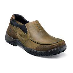 Nunn Bush Portage Men's Slip-On Shoes, Size: medium (8), Brown