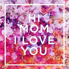 Happy Mother's Day Mom, we ❤️ you.  Send to the mom you love! #happymothersday  XoFP