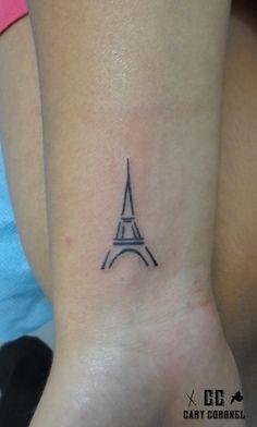 eiffel tower tattoo idea pinteres rh pinterest com eiffel tower tattoo small Eiffel Tower Small Finger Tattoos