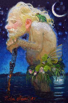 Solve The Cane jigsaw puzzle online with 126 pieces Victor Nizovtsev, Fiber Art Quilts, Cartoon Art Styles, Mermaid Art, Russian Art, Moon Art, Art Inspo, Painting & Drawing, Illustrators