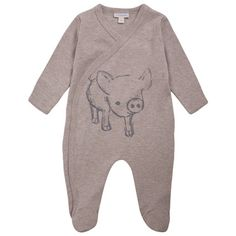 Piglet Baby Sleepsuit, Sleepsuits and Bodies, Baby
