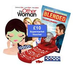 Enter this competition to win an Ultimate Girly Night In Bundle