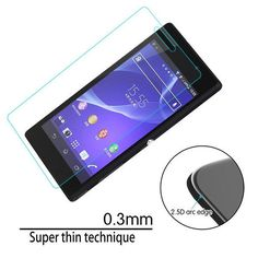 Sony Xperia M2 Tempered Glass Screen Guard free postage #UnbrandedGeneric
