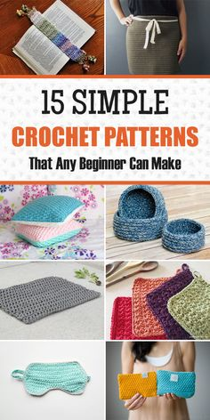 15 Simple Crochet Patterns That Any Beginner Can Make