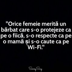 Orice femeie merita un barbat... Sarcastic Humor, Sarcasm, Motivational Quotes, Inspirational Quotes, Let Me Down, Text Quotes, True Words, Woman Quotes, Messages