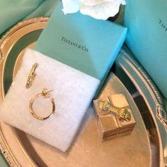 "Selling this ""TIFFANY & CO GOLD HOOP EARRINGS"" in my Poshmark closet! My username is: tigersaurus007. #shopmycloset #poshmark #fashion #shopping #style #forsale #Tiffany & Co. #Jewelry"