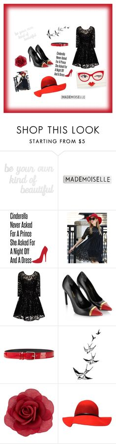 """""""Mademoseille"""" by allefale ❤ liked on Polyvore featuring PBteen, Chi Chi, Yves Saint Laurent, Jil Sander, Accessorize, Kate Spade, women's clothing, women, female and woman"""