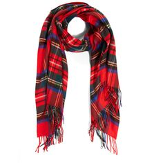 Johnstons of Elgin Woven Cashmere Tartan Scarf ($360) ❤ liked on Polyvore featuring accessories, scarves, cashmere scarves, johnstons of elgin, plaid cashmere scarves, woven shawl and braided scarves