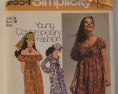 Simplicity Pattern 9354 size 16 uncut by KalimahsKreationsLLC