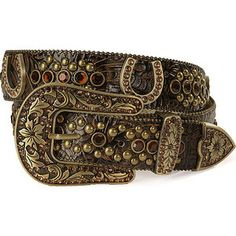 exotic western rhinestone belts women  | belts women s horseshoe rhinestone tooled leather western belt ...