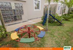 Paisagismo do Unaí. Condomínio fechado de apartamentos localizado em Uberlândia / MG.