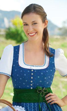 Gössl Salzburg F/S 2012 Classy Dirndl - klassische Dirndlfarbe steht jeder Frau gut