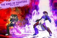 The King of Fighters 2012 King Of Fighters, Fighting Games, Street Fighter, Thor, Over The Years, Fan Art, Manga, Comics, Concert