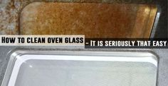 How To Clean Oven Glass - It Is Seriously That Easy