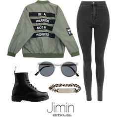 Military/ Army Inspired: Jimin