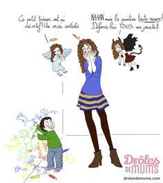 Quand ton enfant fait les Beaux-Arts… à la maison !  Un jour, quelqu'un a dit : « L'artiste doit aimer la vie et nous montrer qu'elle est belle« , Mais il ne devait avoir ni enfants, ni murs chez lui ! Alors que toi… Plus belle la vie, plus beaux les murs ?  Pour retrouver toutes les illustrations de Marie Crayon, c'est par ici : http://drolesdemums.com/illustration-humour-marie-crayon